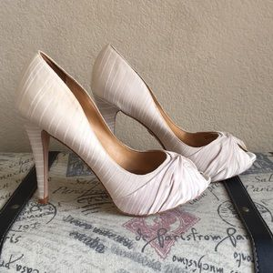 Badgley Mischka Peep-Toe Heels